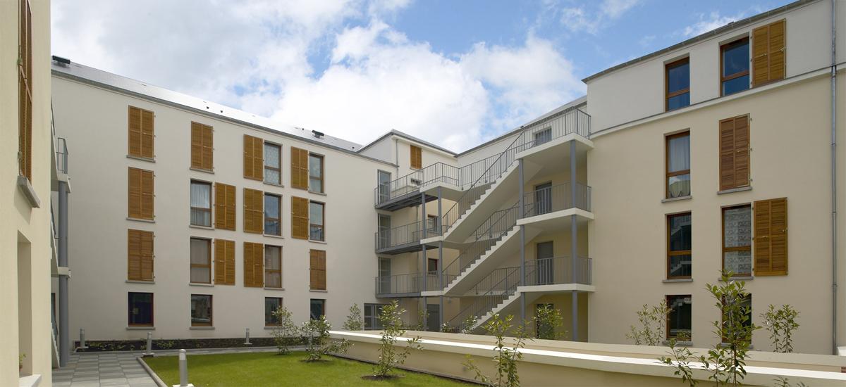 2004 montargis zac de l h pital loiret 45 for Architecte montargis