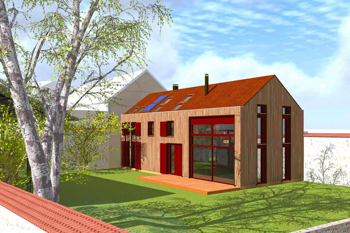 2012 chablis rue du foulon yonne 89 construction for Construction maison 89